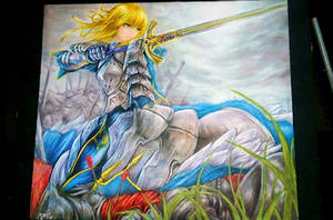 Arturia Pendragon Saber from Fate Series