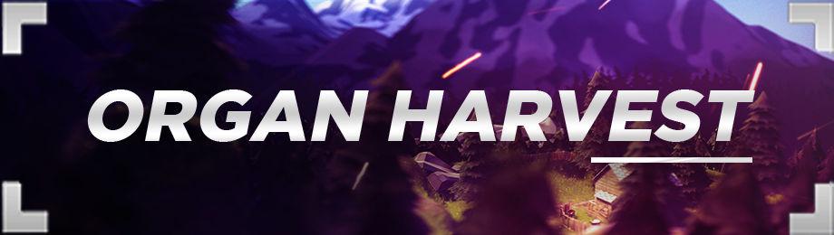 Organ Harvest - Banner (Not Sold)