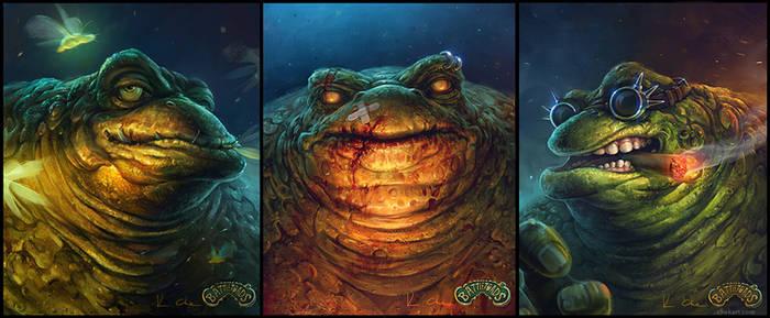 Battle Toads - Zitz , Pimple, Rash