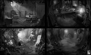 Sketches by Kostya-PingWIN