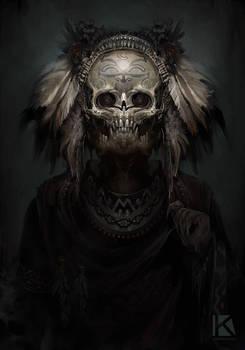 aztec demon speedpaint 2