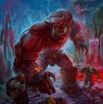 Dorg the Bloody fanart Warcraft
