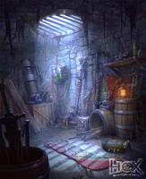 Locke's weapon pit by Kostya-PingWIN