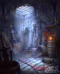 Locke's weapon pit
