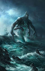 sea creature by Kostya-PingWIN