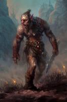 ork warrior by Kostya-PingWIN