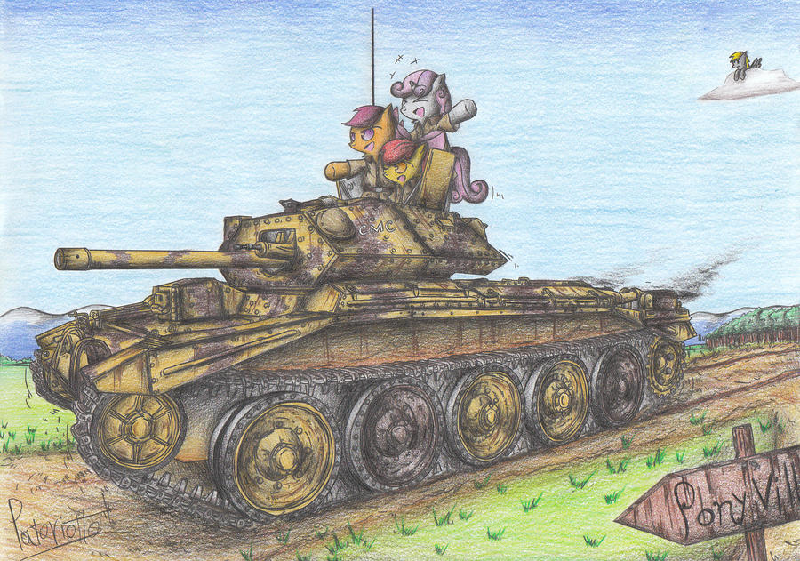 Cutie Mark Crusader Cruiser Tank by Patoriotto