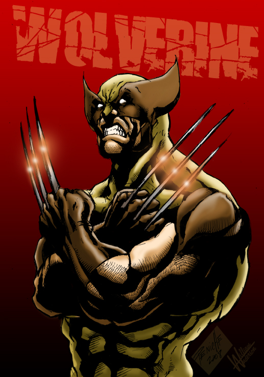 Wolverine Collab by PsychoSlaughterman