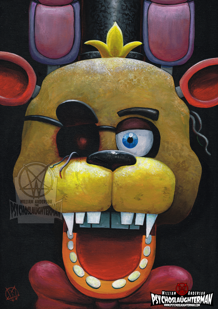 5 Nights In 1 2015 by PsychoSlaughterman