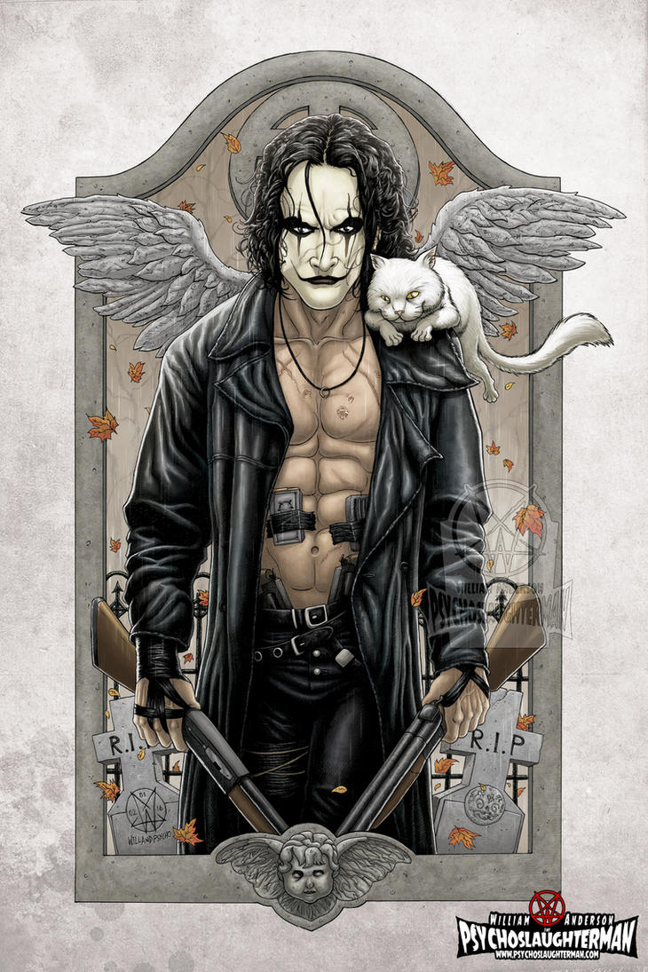 The Crow: Hammer Party Coloured by PsychoSlaughterman