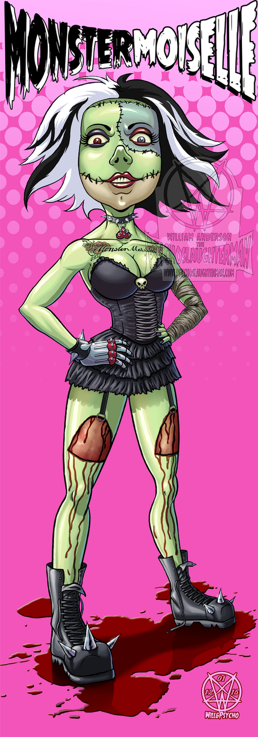 Monster Moiselle by PsychoSlaughterman
