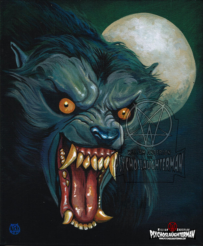 American Werewolf by PsychoSlaughterman