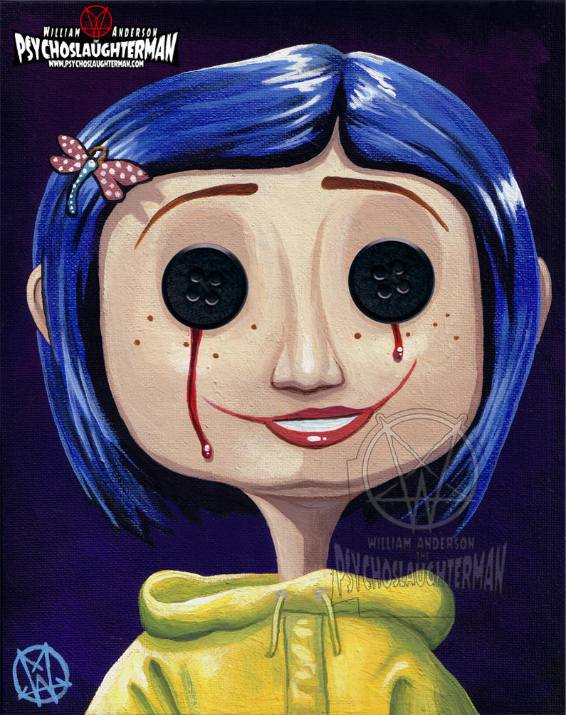 Other Coraline by PsychoSlaughterman