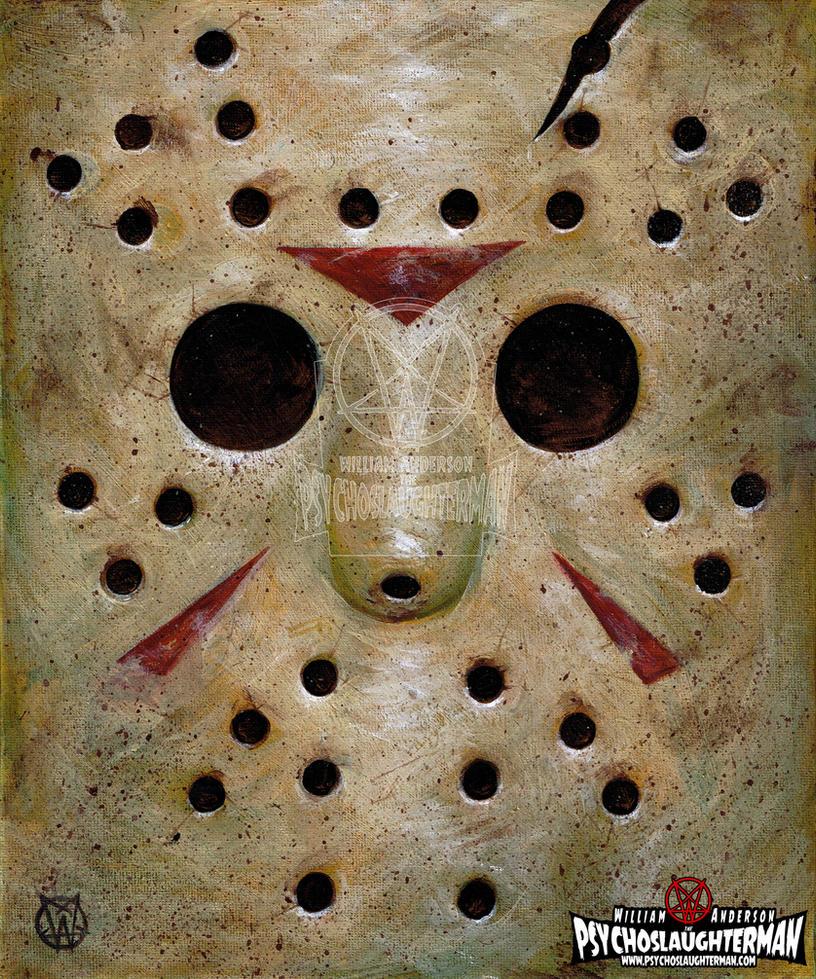 Jason Mask by PsychoSlaughterman