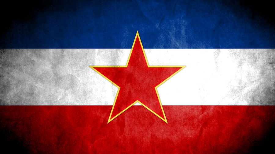 Yugoslavia Grunge Flag by SyNDiKaTa-NP