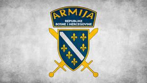 Armija BiH Grunge Wallpaper