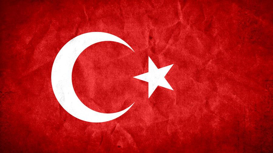 Turkey Flag Grunge HD 2.0 by SyNDiKaTa-NP