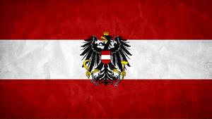 Flag of Austria Grunge