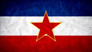 Yugoslavia Grunge Flag 2.0