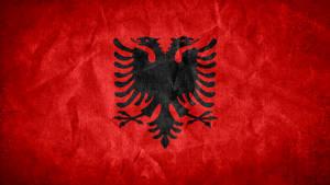 Albania Grunge Flag by SyNDiKaTa-NP