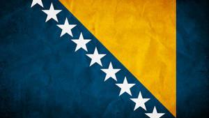 Bosnia and Herzegowina Grunge Flag by SyNDiKaTa-NP