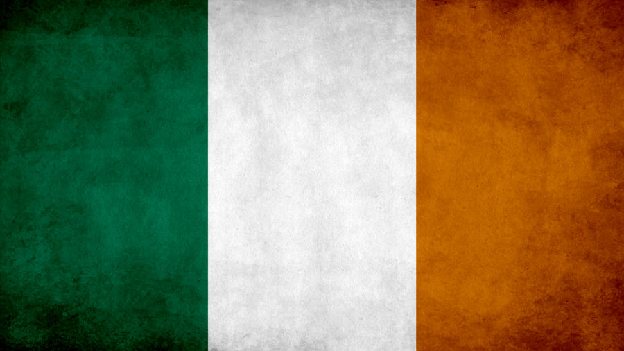 Ireland Grunge Flag by SyNDiKaTa-NP