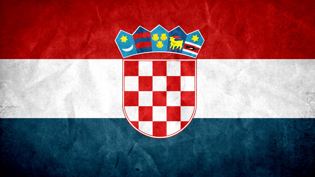 Croatia Grunge Flag 2.0 by SyNDiKaTa-NP