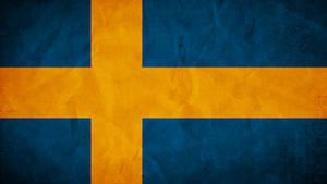 Sweden Grunge Flag