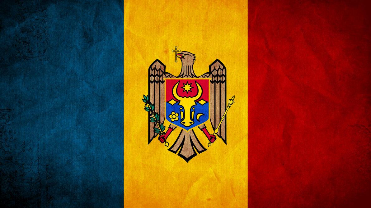 Moldova Grunge Flag by SyNDiKaTa-NP