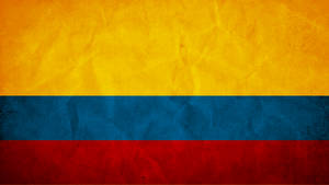 Colombia Grunge Flag