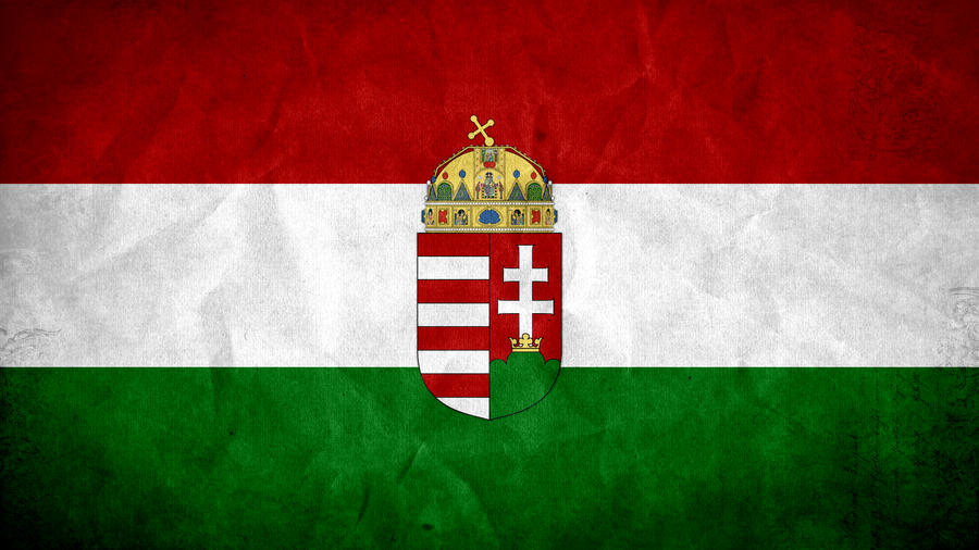 Hungary Grunge Flag by SyNDiKaTa-NP