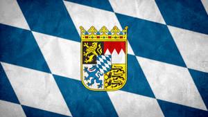Bavaria/Bayern Grunge Flag by SyNDiKaTa-NP