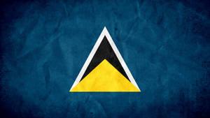St. Lucia Grunge Flag by SyNDiKaTa-NP