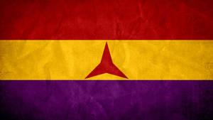 Flag of International Brigade - Spanish Civil War