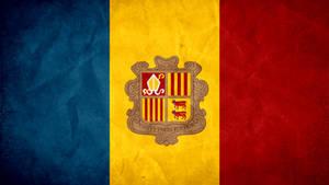 Andorra Grunge Flag