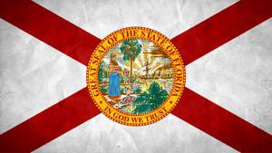 State of Florida Grunge Flag
