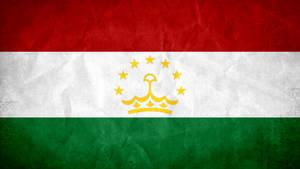 Tajikistan Grunge Flag by SyNDiKaTa-NP
