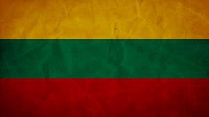 Lithuania Grunge Flag by SyNDiKaTa-NP