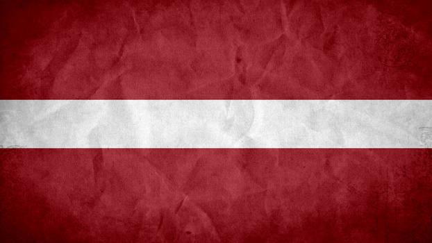 Latvia Grunge Flag