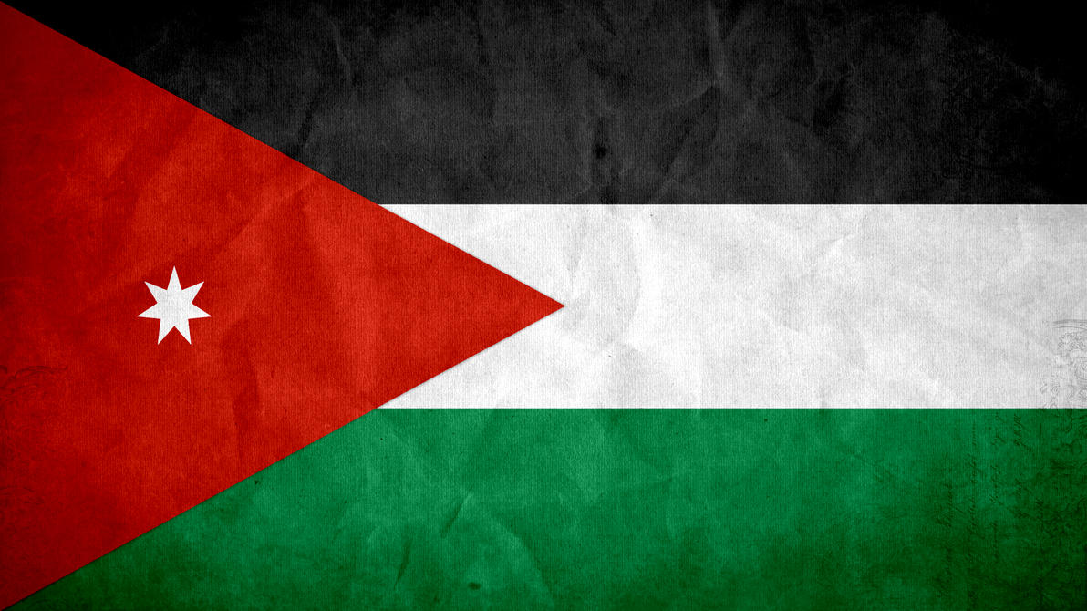 Jordan Grunge Flag by SyNDiKaTa-NP