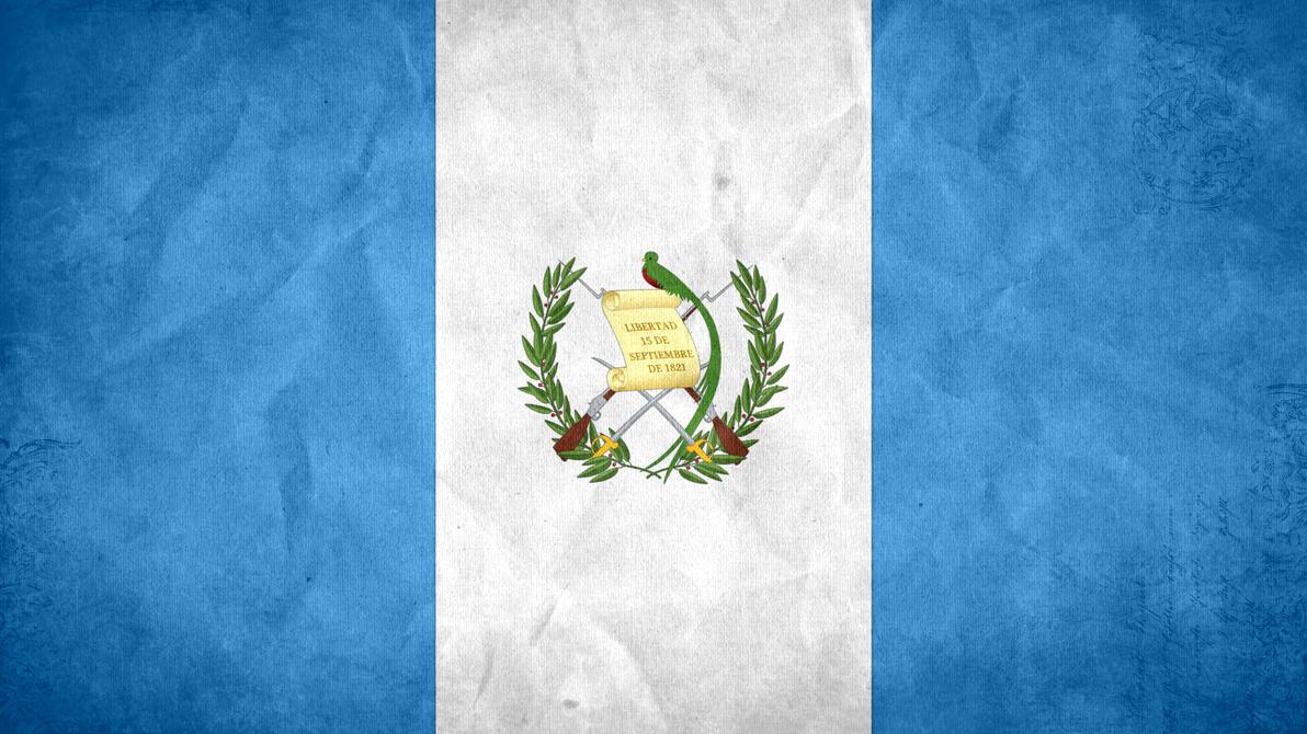 guatemala grunge flag by - photo #1