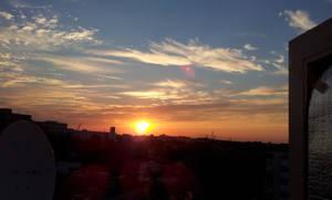 Sunrise in Vienna