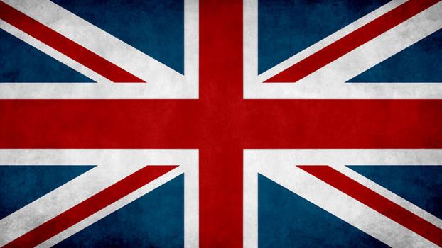 United Kingdom Grunge Flag