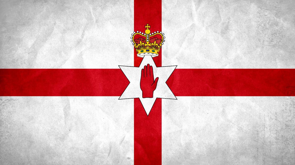 northern ireland grunge flag by syndikata np on deviantart