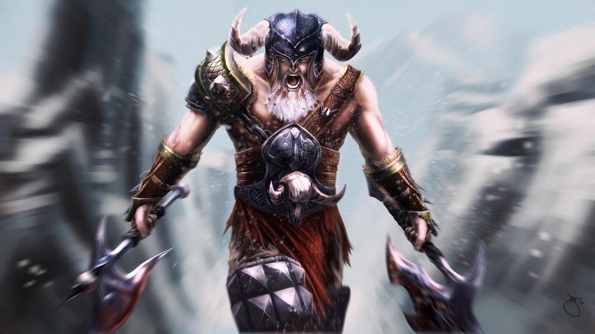 Diablo 3 Barbarian by JoeyJulian