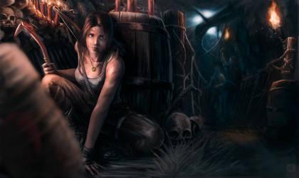 Lara Croft - Survival by JoeyJulian