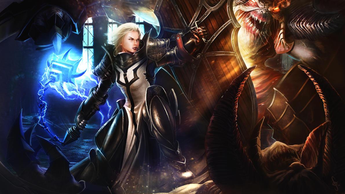 Diablo 3 Ros Wallpaper: RoS The Warm Up By JoeyJulian On DeviantArt