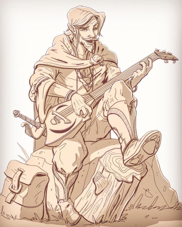 My Bard, D7D 5e by JoeyJulian