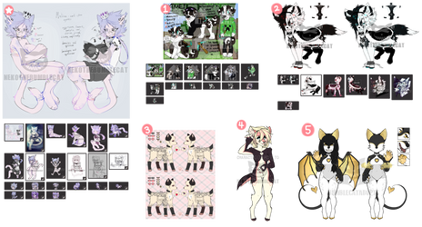 Characters + Adopts for sale (open)
