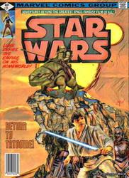 Original Marvel Star Wars 31 Homage by screamsinthevoid